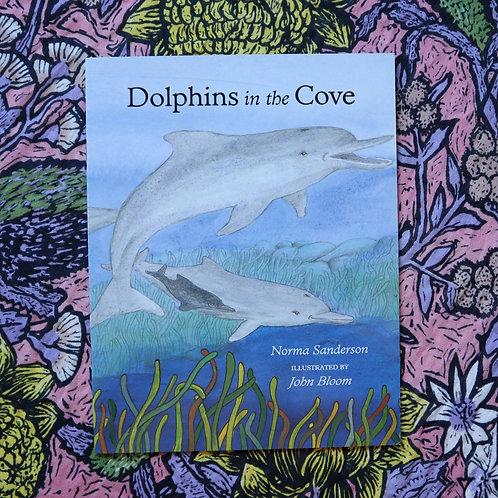 Dolphins in the Cove by Norma Sanderson and John Bloom