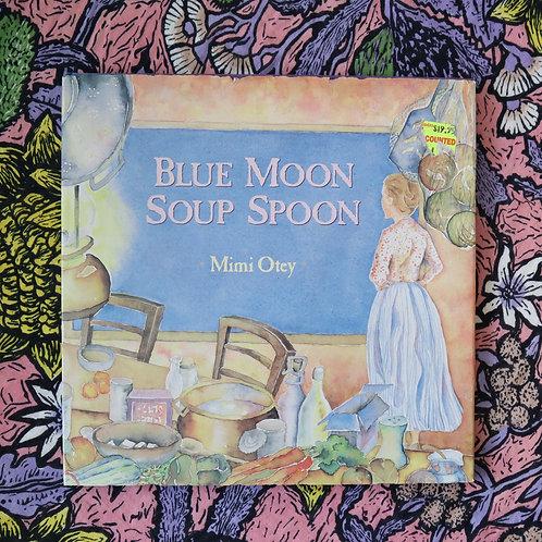 Blue Moon Soup Spoon by Mimi Otey