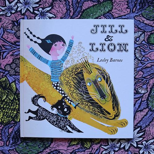 Jill & Lion by Lesley Barnes