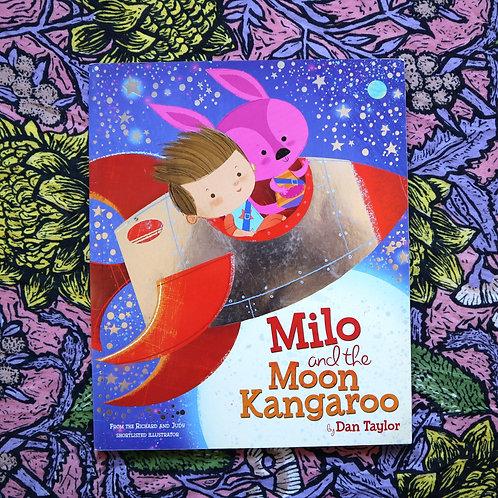 Milo and the Moon Kangaroo by Dan Taylor