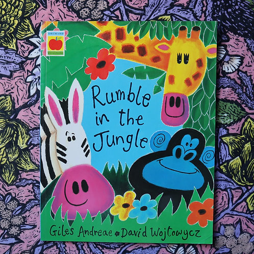 Rumble In The Jungle by Giles Andeae & David Wojtowycz