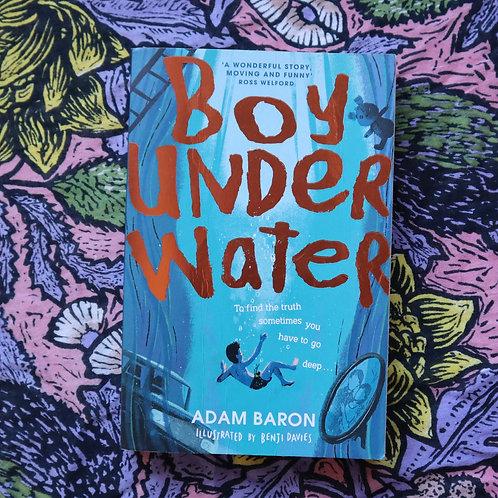 Boy Under Water by Adam Baron & Benji Davies