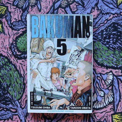 Bakuman 5 by Tsugumi Ohba and Takeshi Obata