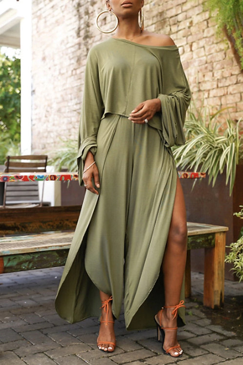 Army Green Two-Piece