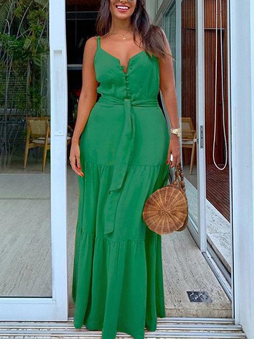 Lush Green Dress