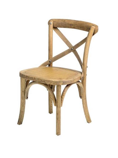 Kids size cross back chairs