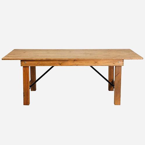 Wood Farmhouse Tables