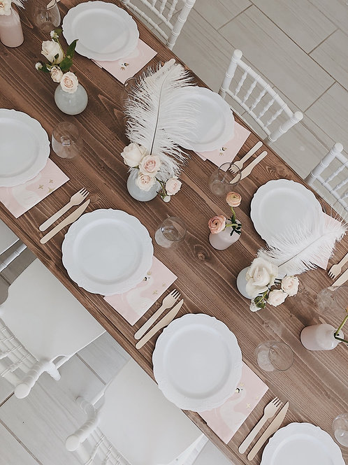 Kids table - wood elegance