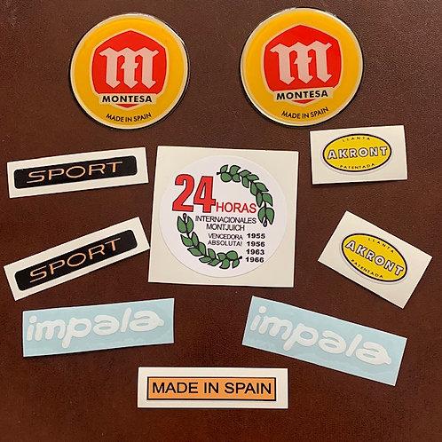 Montesa Impala Sport adhesivos clásicos