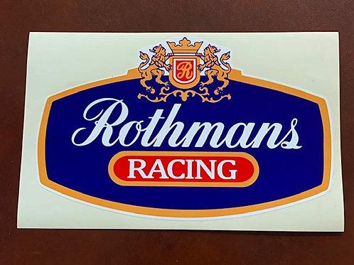 Pegatina Rothmans Racing decoracion coches o motos