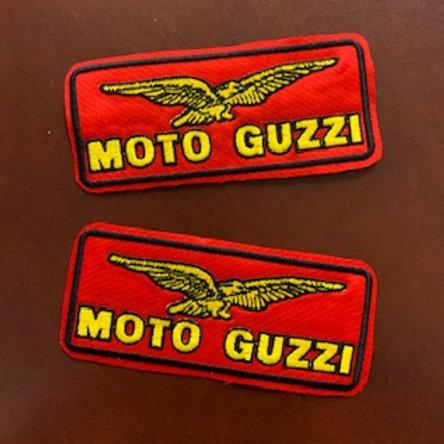 Bordado termico MotoGuzzi modelo clasic