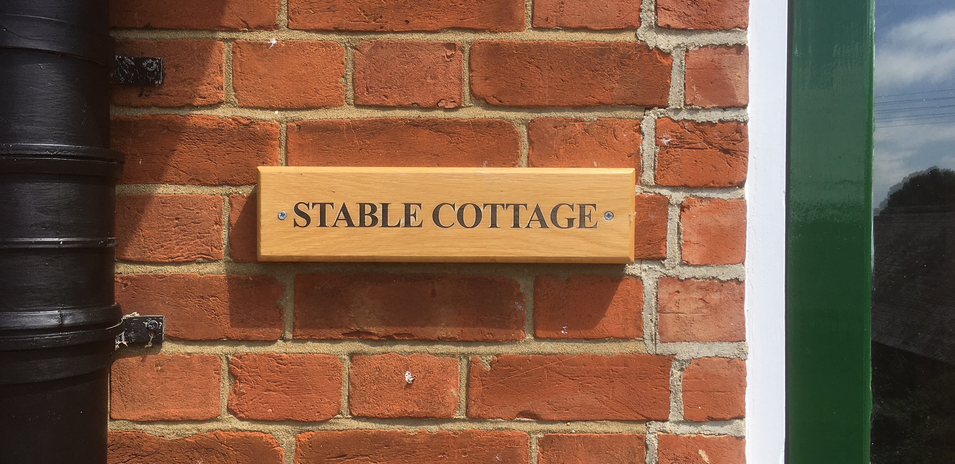 Stable Cottage Sign