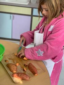 cooking class each Thursday
