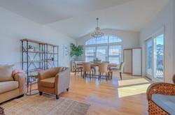 2nd Model Unit Living Room