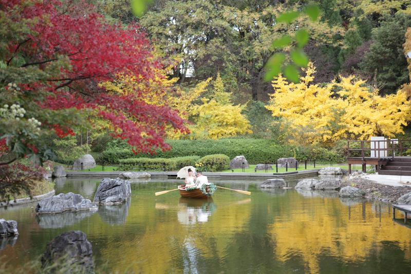 鶴見ノ森迎賓館|ボート