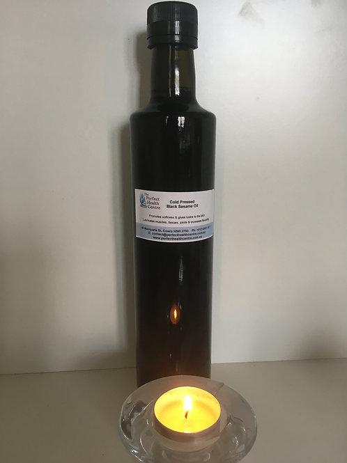 Cold Pressed Black Sesame Oil