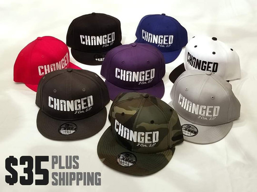CHANGED Snapback Hats