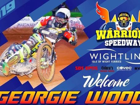 Warriors Swoop For Georgie Wood
