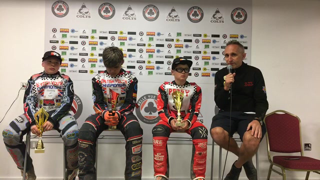 Press Conference : British Youth Round : Belle Vue : 22/06/2019