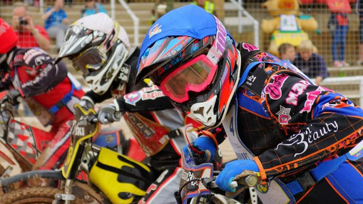 Lee Smart At The Start Of Heat 3 : Image By Ian Groves