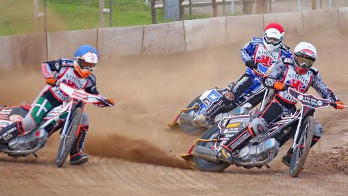 Connor Coles, Ben Morley & Matt Saul : Image By Ian Groves