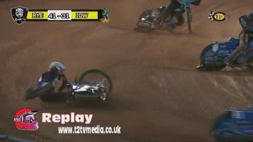 Heat 12 Fall : Image Taking From The Official DVD By Ken Burnett T2TV Media