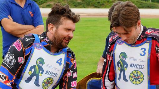 Lee Smart & Mark Baseby On Parade : Image By Ian Groves