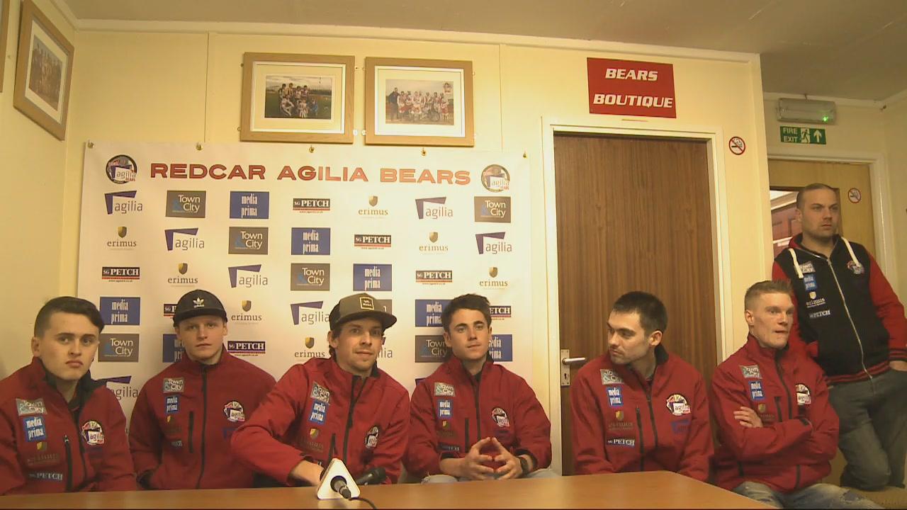 Redcar Bears Press Day Riders Presentation : 22/03/2019