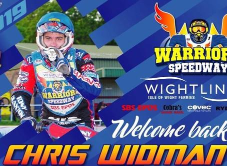 Widman's A Warrior Again