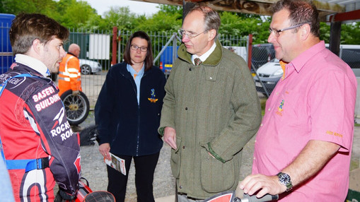Andrew Turner MP With Barry & Mark : Image By Ian Groves