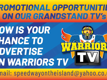 Warriors TV Sponsorship Opportunities