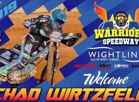 'Dream Come True' For New Warrior Wirtzfeld