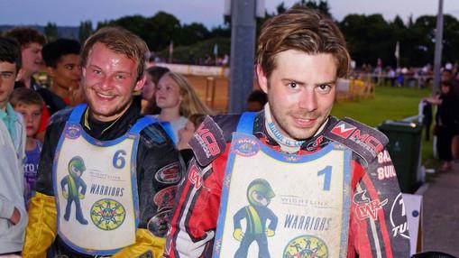 Nathan Stoneman & Mark Baseby : Image By Ian Groves