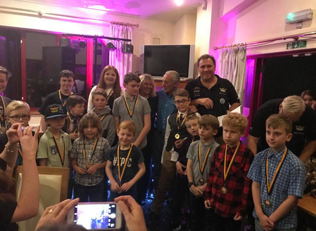Warriors End Of Season Party – A Roaring Success