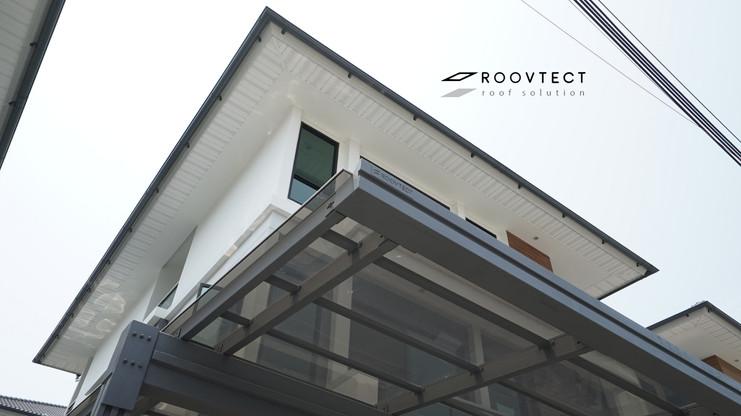 หลังคาโพลีตัน หลังคาโรงรถ ROOVTECT Knockdown System