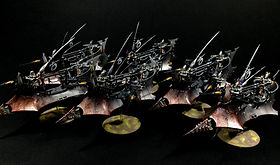 Raider Dark Eldar Drukhari 40k BBS Miniature Painting Commission Service