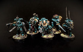 Legion Command Sons of Horus Space Marine Horus Heresy 40k 30k BBS Miniature Painting Commission Service