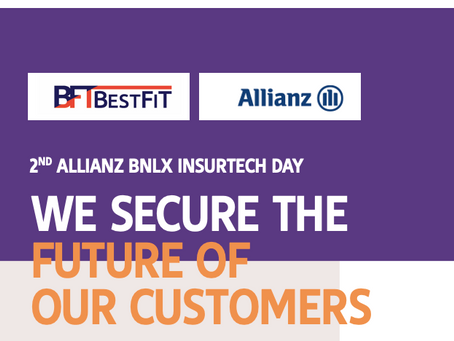 BestFiT excels at the ALLIANZ BNLX INSURTECH DAY