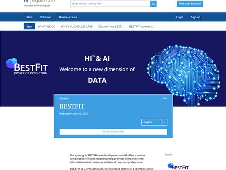 BESTFIT is now featured on the hr | equarium platform