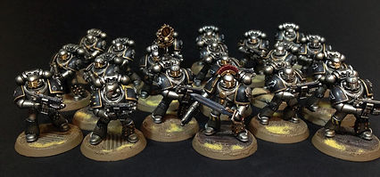 Legion Tactical Iron Warriors Space Marines 40k 30k Horus Heresy BBS Miniature Painting Commission Service