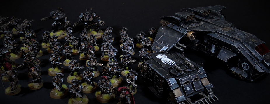 Iron Hands Space Marine Horus Heresy 40k 30k BBS Miniature Painting Commission Service