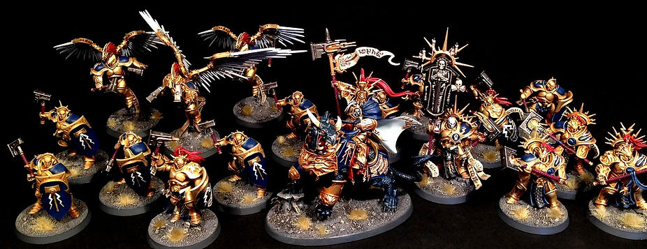 Stormcast Eternal Age of Sigmar BBS Miniature Painting Commission Service