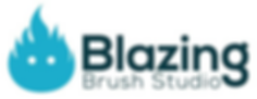 Blazing Brush Studio Miniature Painting Commission Service Logo