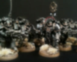 Legion Tactical Iron Hands Space Marine Horus Heresy 40k 30k BBS Miniature Painting Commission Service