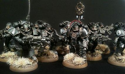 Iron Hands Horus Heresy 40k 30k BBS Miniature Painting Commission Service