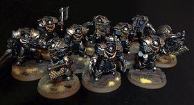 Legion Terminators Iron Warriors Space Marines 40k 30k Horus Heresy BBS Miniature Painting Commission Service