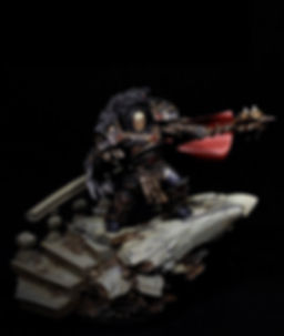 Warmaster Primarch Sons of Horus Space Marine Horus Heresy 40k 30k BBS Miniature Painting Commission Service