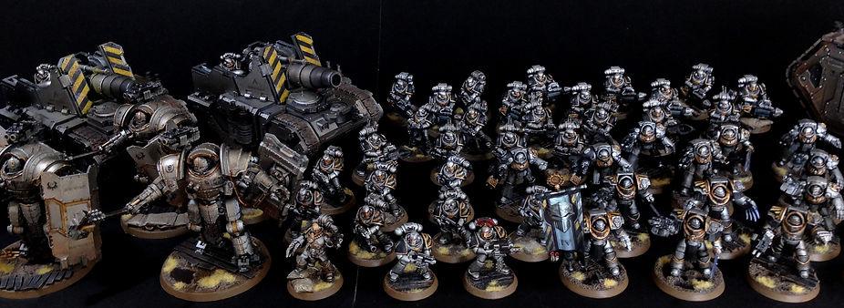 Iron Warriors Space Marine Horus Heresy 40k 30k BBS Miniature Painting Commission Service