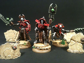 Overlord Necron 40k BBS Miniature Painting Commission Service
