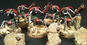 Destroyer Necron 40k BBS Miniature Painting Commission Service